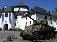 Castle of Clervaux in Grand Duchy of Luxembourg