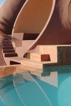 Palais Bulles #Architecture #Interior #Design