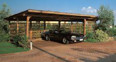 Free 2 Car Carport Plans | Car Port. Macconi Arreda: Lavorazioni in legno di qualità garantita e ...
