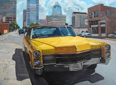 Carol Marine:  Yellow Car on Sixth