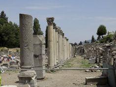 Commercial Market area of Ephesus City, the Agora