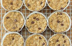 To-Go Oatmeal Cupcakes: make these before you run out the door!