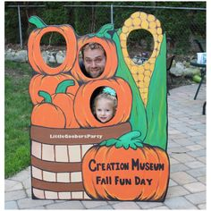 Large Festival Photo Booth Prop by LittleGoobersParty on Etsy Pumpkin Patch Wooden Photo Prop . Large Festival Photo Booth Prop by LittleGoobersParty on Etsy Fall Festival Decorations, Fall Festival Games, Halloween Decorations, Outdoor Decorations, Harvest Festival Games, Fall Photo Booth, Photo Booth Props, Picture Booth, Halloween Fotos