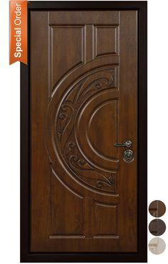 Buy Garda front door at a bargain price from Novo Porte at TheDoorsDepot, the online shop offering Garda entry door in the USA. Door Design Interior, Door Gate Design, Custom Front Doors, Wooden Main Door Design, Door Glass Design, Front Door Design
