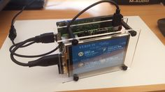 """I put together a Full node on a Raspberry Pi3 with a 3.5""""TFT displaying network statistics and price. Projetos Raspberry Pi, Put Together, Statistics, Blockchain, Core, Digital, Big Data"""