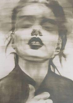 "Artist János Huszti; Painting, ""Too Much Lipstick"" #art"