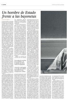"""El procer Adolfo Suárez, destacado en la edición ESPECIAL del perodico Español """"El País"""" del 24 de marzo de 2014. Pagina 08 ~ Spain's national hero Adolfo Suárez, featured in the 24 March 2014 SPECIAL issue of the Spanish newspaper """"El País"""". Page 08"""