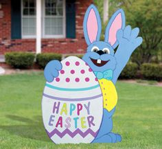 Bunny Yard Art | bunny woodcraft pattern now you can make our most popular easter bunny ...