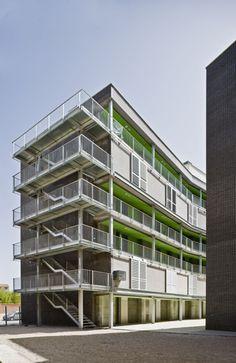 al4 _ 56 Social Housing VPO / Burgos & Garrido arquitectos
