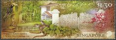 Oriental Pied Hornbill stamps - mainly images - gallery format