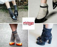 Sandalen en pumps hoeven echt niet naar zolder, nu het wat kouder wordt. Je sokken mogen dit seizoen namelijk gezien worden. Voor een beetje extra glitter & glamour in het dagelijks leven, shop je deze mooie exemplaren bij Elzinga!