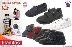 ♥ TITANITOS la marca de calzado infantil LAVABLE para la Vuelta al cole y mucho más ♥