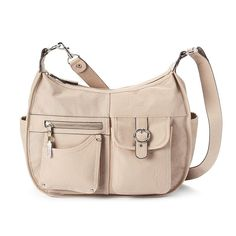 Rosetti Riveting Seams Convertible Hobo Bag, Women's,