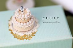 Dollhouse miniature Lace Whipped cream by CheilysMiniature on Etsy