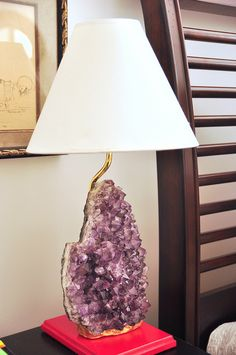 DIY Agate Lamp  (Website redirects to bloggers new site, which unfortunately does not contain the old site's content.  Just hit stop the second the page loads to prevent the redirect)