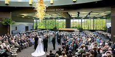 Venue, Frederik Meijer Gardens: This picturesque venue provides many indoor and outdoor options to make your special day an extraordinary experience. Featuring four exclusive caterers, award-winning architectural design and a professional events team to assist you, Meijer Gardens can help you make your dream wedding come true.