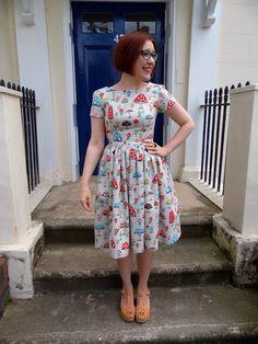 Bearaigh dress - Christine Haynes Emery dress in Cath Kidston fabric