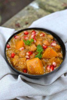 Butternut Squash and Chickpeas Korma
