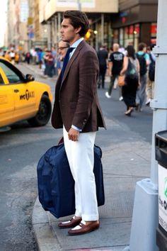 #Gentleman chocolate linen sport coat Nicholas Joseph Custom Tailors l www.customsuitsyou.com l Chicago, IL l USA