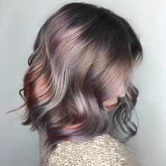 Image result for oil slick hair