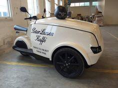 Food Cart Design, Food Truck Design, Bicycle Cart, Garage Cafe, Mobile Restaurant, Bike Food, Velo Cargo, Food Vans, Coffee Carts
