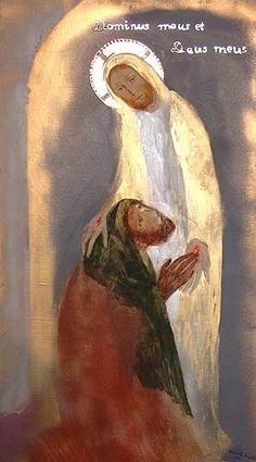 St Francis    Udvardi Erzsébet