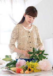 Crochet Jacket, Crochet Cardigan, Shrug Sweater, Knit Crochet, Crochet Symbols, Crochet Patterns, Crochet Doilies, Crochet Flowers, Cardigan Pattern