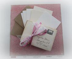 #ThinkPinkArt   Tutorial - Secret Envelope Box