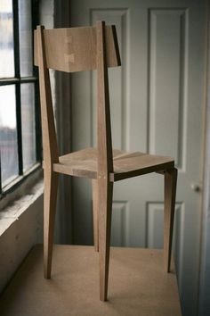 plane chair studio temper - unique chair design precisely crafted in wood