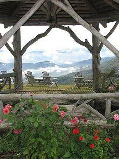 The Swag Country Inn, Waynesville, Smoky Mountains, North Carolina