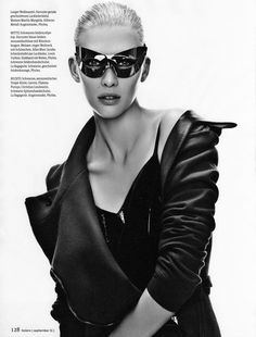 Nadine Wolfbeisser by Oliver Rose for Bolero Magazine September 2011 | Fashion Gone Rogue: The Latest in Editorials and Campaigns
