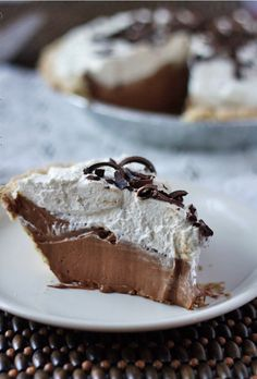 Homemade Bakers Square French Silk Pie.  #Food #Drink #Trusper #Tip