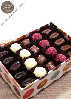 Retro Temalı Çikolata Kutusu