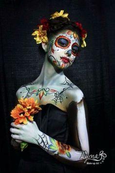 Beautiful Skull Art