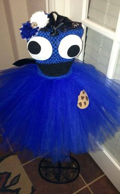 Hey, I found this really awesome Etsy listing at https://www.etsy.com/listing/168807445/cookie-monster-inspired-tutu-dress-great