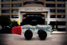 Reciclaje en movimiento #Upcylcing #Recycling #Auto #Carro #Botella #PlasticBottle #Car #Reciclaje.