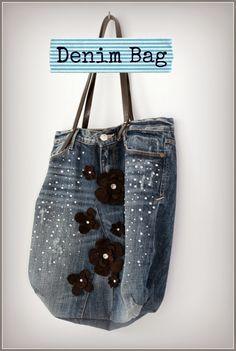 Design of mine: The Upcycled Denim Bag