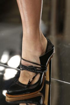 Christopher Kane | London #detail #shoes #black