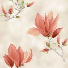 Dekorační látka Magnolie Plants, Painting, Magnolias, Painting Art, Paintings, Plant, Painted Canvas, Drawings, Planets