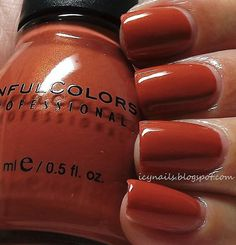 Sinful Colors Pandora; too early to be talking fall- but this is a cute color