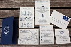 """Love the idea of having a lot of enclosure cards in my invitations. Also think it's nice to have """"extra"""" events to make it more of a wedding weekend than just one day (esp. for a destination wedding)"""