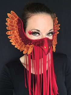 Phoenix Mask : 11 Steps (with Pictures) - Instructables