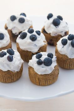 Blueberry Pupcakes for Dogs (if you are making cupcakes for your dog you NEED to get out more)