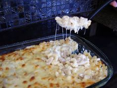 Kristi's Dishes: Chicken Alfredo Casserole