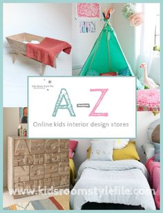 Kids Room Style File Kids Interiors Online Shopping Directory, Kids Decor Online Shopping Guide