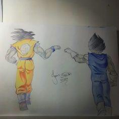 Goku and Vegeta - Dragon Ball Z