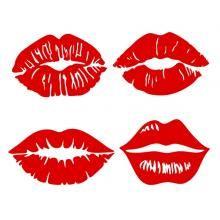 Women Lips SVG Cuttable Designs