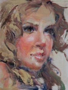 """Nineteen"" - Originals - All Artwork - Remley Martin | Fine Art World"
