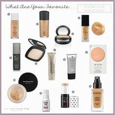 "I thought I'd round up my favorite foundation and base products as the next part of the ""What Are Your Favorite"" series!I'm constantly trying new things, especially new products that just hit the s..."