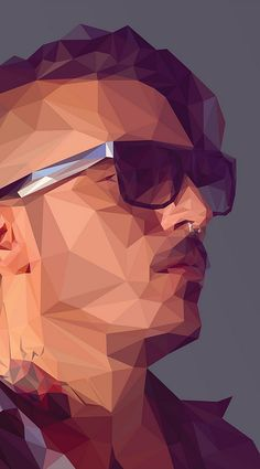 Breno Bitencourt shows you step-by-step how to create a stylish low-poly portrait in Illustrator and Photoshop. Time to complete 4 hours Software needed Any recent version of Adobe Illustrator and Photoshop Art And Illustration, Portrait Illustration, Art Illustrations, Adobe Illustrator Tutorials, Photoshop Illustrator, Portraits Illustrés, Design Art, Logo Design, Free Design